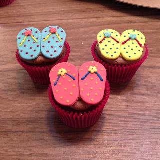 Cupcakes de chinelo